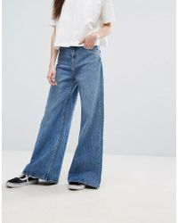 Weekday - Ace Highwaist Wide Leg Jeans - Lyst