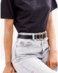 ASOS - Double Circle Waist & Hip Belt - Lyst