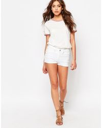 Blend She - Pastel Shorts In White - Lyst