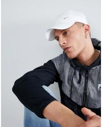 Nike - Gorra con logo de metal en blanco 943092-100 de - Lyst