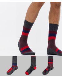 Pringle of Scotland - 3 Pack Gift Set Socks - Lyst