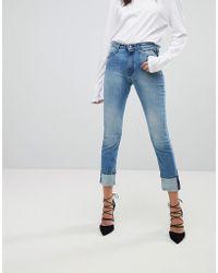 Replay - Easy Stretch High Rise Slim Leg Jean - Lyst