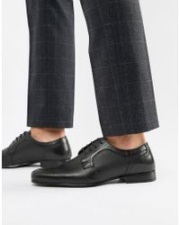 Red Tape - Harston Lace Up Shoes In Black - Lyst