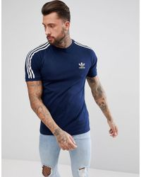 adidas Originals - Adicolor California T-shirt In Navy Cz4546 - Lyst