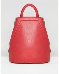 Matt & Nat - Chanda Red Backpack - Lyst
