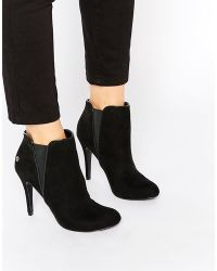 Blink - Heeled Ankle Boots - Lyst