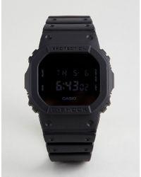 G-Shock - G-shock Dw-5600bb-1er Heritage Digital Silicone Watch In Brown - Lyst