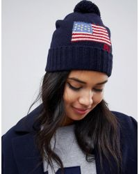 Polo Ralph Lauren - Flag Bobble Hat - Lyst