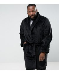 French Connection - Plus Fleece Dressing Gown - Lyst
