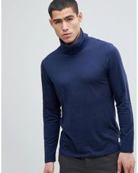Esprit | Long Sleeve T-shirt With High Neck | Lyst