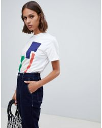 Kowtow - Abstract Print Organic Cotton T-shirt - Lyst