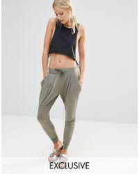 Nocozo | Khaki Hareem Pants | Lyst