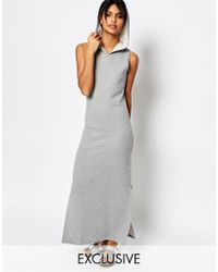 Nocozo - Maxi Dress With Hood - Lyst