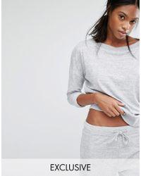 Nocozo - Soft Grey Sweater - Lyst