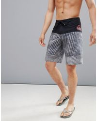 Quiksilver - Fluid Force Swim Shorts In Black - Lyst