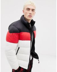 Pull&Bear - Puffer Jacket In White - Lyst