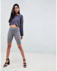 PrettyLittleThing - Legging Shorts - Lyst