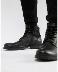 c327c3050e4 Lyst - Call It Spring Rosciolo Lace Up Boots In Black in Black for Men
