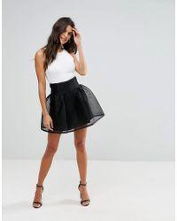 Zibi London - Bonded Prom Skirt - Lyst