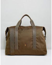 Farah - Franks Weekend Bag In Green - Lyst