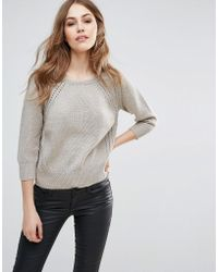 French Connection | Moonlight Mozart Knit Sweater | Lyst