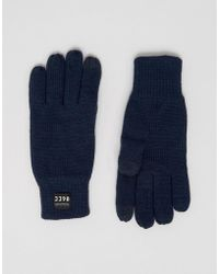 Jack & Jones - Gloves Touchscreen - Lyst
