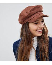 925bfec29d5f6 Brixton - Unstructured Baker Boy Hat In Chestnut - Lyst