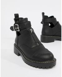 Blink - Flat Ankle Boots - Lyst