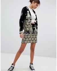 Missguided - Embellished Festival Mini Skirt - Lyst