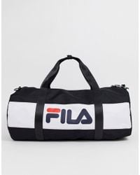 89050c28f4 Fila Small Holdall in Blue for Men - Lyst