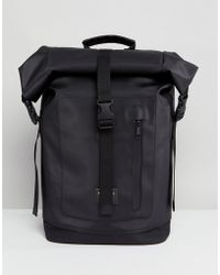 Sandqvist - Nico Roll Top Backpack - Lyst