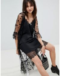 Vero Moda - Star Mesh Kimono Jacket - Lyst