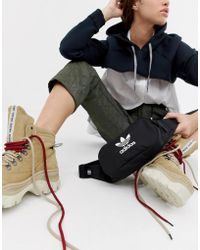 adidas Originals - Trefoil Fanny Pack In Black - Lyst