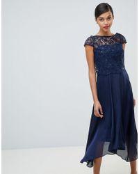 Coast - Jade Lace Midi Dress - Lyst