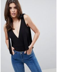 Oh My Love - Bow Shoulder Body - Lyst