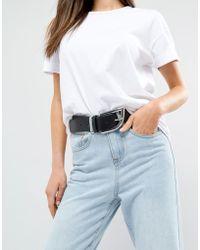 ASOS | 80's Buckle Jeans Belt | Lyst