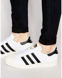 35e8149b998b77 adidas Originals - Superstar Animal Leather Sneakers - Lyst