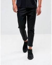 AllSaints   Slim Fit Cropped Pant   Lyst