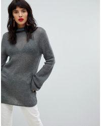 Vero Moda - Roll Neck Knitted Jumper - Lyst