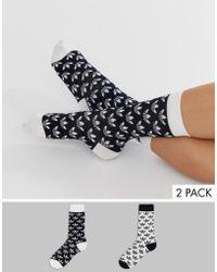 adidas Originals - Sokken Met Trefoil-print - Lyst
