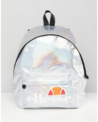 Ellesse - Iridescent Backpack With Logo - Lyst