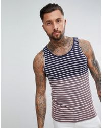 Another Influence - Ombre Stripe Vest - Lyst