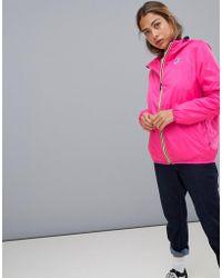 K-Way - K-way Le Vrai 3.0 Claude Waterproof Jacket In Pink - Lyst