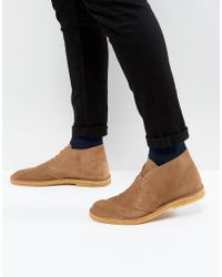 4129dd9af21f Shop Men s Pretty Green Desert boots Online Sale