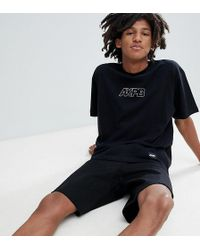 Pull&Bear - Exclusive Oversize T-shirt In Black With Logo - Lyst