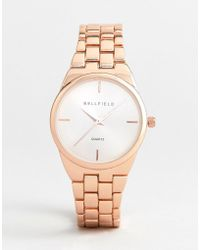 Bellfield - Rose Gold Plated Watch - Lyst