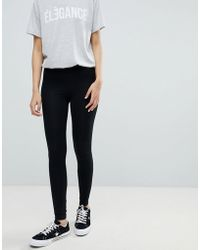 Miss Selfridge - Leggings In Black - Lyst