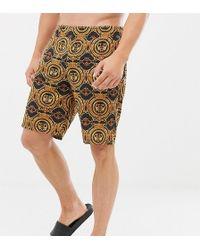 ASOS - Mix & Match Pyjama Shorts In Baroque Print - Lyst