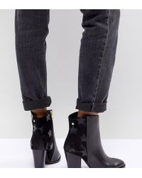 Tommy Hilfiger - Leather Heeled Ankle Boots - Lyst