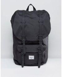 Herschel Supply Co. - Little America Backpack In Black 25l - Lyst